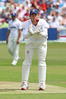 Essex wicket keeper Ben Foakes - Essex CCC vs England - LV Challenge Match at the Essex County Ground, Chelmsford - 30/06/13 - MANDATORY CREDIT: Gavin Ellis/TGSPHOTO - Self billing applies where appropriate - 0845 094 6026 - contact@tgsphoto.co.uk - NO UNPAID USE