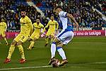 Leganes Jose Naranjo vs Villarreal during Copa del Rey match. 20180104.