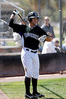 James Cesario - Colorado Rockies - 2009 spring training.Photo by:  Bill Mitchell/Four Seam Images