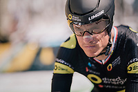 Sylvain Chavanel (FRA/Direct Energie) in his (record breaking) 18th Tour de France!!<br /> <br /> Stage 3 (Team Time Trial): Cholet > Cholet (35km)<br /> <br /> 105th Tour de France 2018<br /> ©kramon