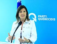 Parti Quebecois health critic Diane Lamarre, July 9, 2015<br /> <br /> photo : Agence Quebec Presse