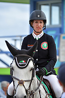 MIAMI BEACH, FL - APRIL 05: World Famous Riders attend the Longines Global Champions Tour stop in Miami Beach on April 5, 2018 in Miami Beach, Florida.<br /> <br /> People:  Laura Kraut