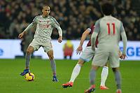 Fabinho during West Ham United vs Liverpool, Premier League Football at The London Stadium on 4th February 2019