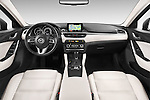Stock photo of straight dashboard view of 2015 Mazda Mazda 6 Skycruse 5 Door Wagon Dashboard