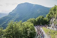 grupetto up the Foza climb (1086m)<br /> <br /> Stage 20: Pordenone › Asiago (190km)<br /> 100th Giro d'Italia 2017