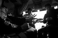 Paris-Roubaix 2012 ..teamdoctor prepping fingers