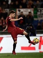 Calcio, Serie A: AS Roma - Benevento, Roma, stadio Olimpico, 11 gennaio 2018.<br /> Roma's Stephan El Shaarawy in action during the Italian Serie A football match between AS Roma and Benevento at Rome's Olympic stadium, February 11, 2018.<br /> UPDATE IMAGES PRESS/Isabella Bonotto
