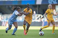 San Jose, Ca - December 2, 2016: West Virginia defeated North Carolina 1:0 in a semi-final match up of the NCAA Women's Soccer College Cup at Avaya Stadium in San Jose California.