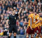 Referee Steven McLean