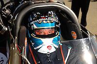 Jul. 17, 2010; Sonoma, CA, USA; NHRA top fuel dragster driver Rod Fuller during qualifying for the Fram Autolite Nationals at Infineon Raceway. Mandatory Credit: Mark J. Rebilas-