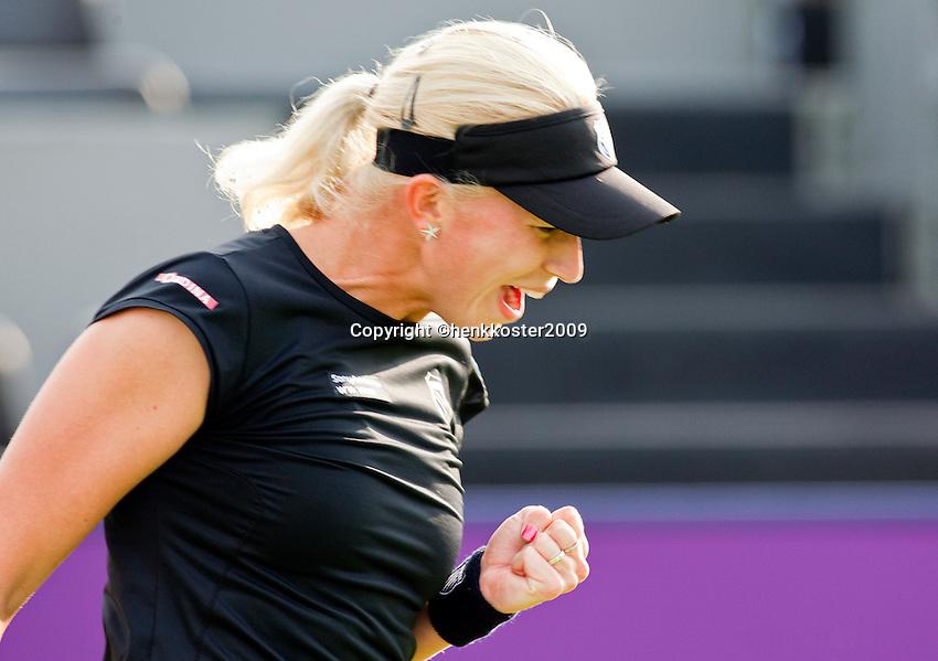 15-6-09, Rosmalen, Tennis, Ordina Open 2009,  Michaella Krajicek wint