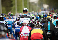 Tom Boonen (BEL/OPQS) relaxed in the peloton (before the official start)<br /> <br /> Ronde van Vlaanderen 2014