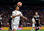 Real Madrid CF's Sergio Reguilon during UEFA Champions League match, Round of 16, 2nd leg between Real Madrid and AFC Ajax at Santiago Bernabeu Stadium in Madrid, Spain. March 05, 2019.(ALTERPHOTOS/Manu R.B.)