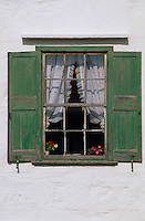 Europe/Espagne/Baléares/Minorque/Env de San Clemente : Détail fenêtre