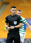 St Johnstone v Celtic…04.10.20   McDiarmid Park  SPFL<br />Referee Nick Walsh<br />Picture by Graeme Hart.<br />Copyright Perthshire Picture Agency<br />Tel: 01738 623350  Mobile: 07990 594431