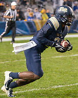 Pitt wide receiver Maurice Ffrench. The Penn State Nittany Lions defeated the Pitt Panthers 51-6 on September 08, 2018 at Heinz Field in Pittsburgh, Pennsylvania.