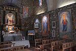 Chapel Saint Juste et Ruffine Prats de Mollo  Southern France. Artist , Jean Lareuse also know as Jean Llareus. 2016
