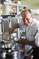 Europe/France/Rhône-Alpes/74/Haute-Savoie/Machilly: Jean-Marie Chanove - Restaurant: Refuge des Gourmets [Non destiné à un usage publicitaire - Not intended for an advertising use]