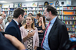 """Teodoro Garcvia Egea, Dolors Monserrat and Ana Pastor  and Ana Pastor in the presentation of the book """"Cada dia tiene su afan"""" by former minister Jorge Fernandez Diaz with Mariano Rajoy<br /> October 10, 2019. <br /> (ALTERPHOTOS/David Jar)"""