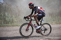 Brian Van Goethem (BEL/Lotto-Soudal)<br /> <br /> Antwerp Port Epic 2020 <br /> One Day Race: Antwerp to Antwerp 183km; of which 28km are cobbles and 35km is gravel/off-road<br /> Bingoal Cycling Cup 2020