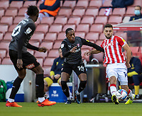 31st October 2020; Bet365 Stadium, Stoke, Staffordshire, England; English Football League Championship Football, Stoke City versus Rotherham United; Tommy Smith of Stoke City crosses the ball
