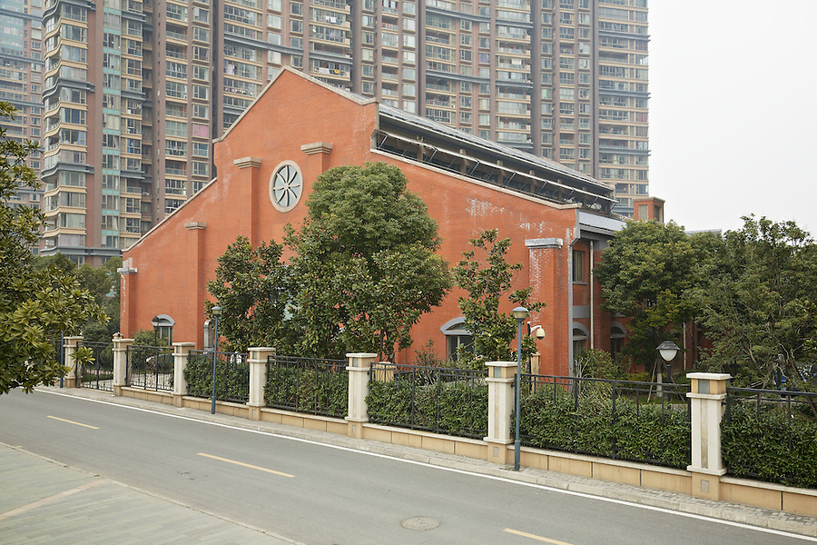 The Last Remaining Warehouse On The B&S Site In Wuhu, Although A Rebuild (And Not A Completely Accurate One) From 2007.