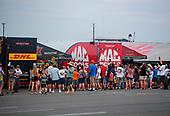 Doug Kalitta, Mac Tools, top fuel, Richie Crampton, DHL, pits, fans, crowd