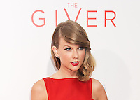 NEW YORK CITY, NY, USA - AUGUST 11: Singer Taylor Swift arrives at the New York Premiere Of The Weinstein Company's 'The Giver' held at the Ziegfeld Theatre on August 11, 2014 in New York City, New York, United States. (Photo by Celebrity Monitor)