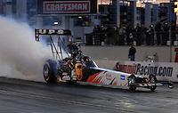 "Jan 20, 2007; Las Vegas, NV, USA; NHRA Top Fuel driver Bob Vandergriff during preseason testing at ""The Strip"" at Las Vegas Motor Speedway in Las Vegas, NV. Mandatory Credit: Mark J. Rebilas"