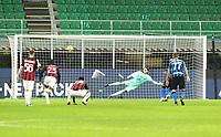 Milano  26-01-2021<br /> Stadio Giuseppe Meazza<br /> Coppa Italia Tim 2020/21<br /> Inter - Milan nella foto:   Lukaku il rigore                                                       <br /> Antonio Saia Kines Milano