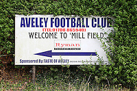Aveley FC sign ahead of Aveley vs AFC Hornchurch, Emirates FA Cup Football at the Mill Field on 19th August 2016