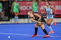 Katie Doar during the Pro League Hockey match between the Blacksticks women and Argentina, Nga Punawai, Christchurch, New Zealand, Friday 28 February 2020. Photo: Simon Watts/www.bwmedia.co.nz