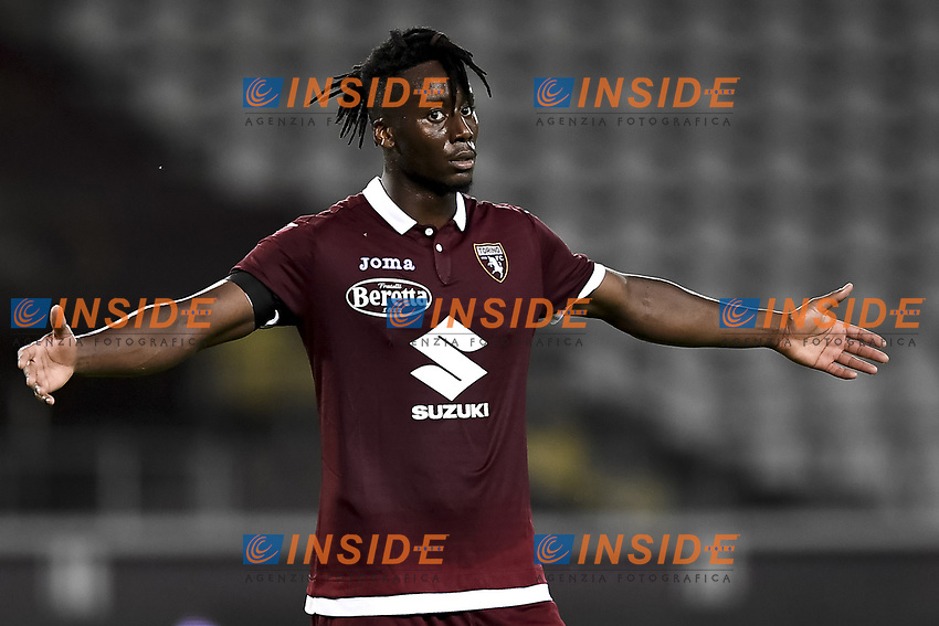 Soualiho Meite of Torino FC  reacts during the Serie A football match between Torino FC and Udinese at Olimpico stadium in Torino ( Italy ), June 23th, 2020. Play resumes behind closed doors following the outbreak of the coronavirus disease. <br /> Photo Image Sport / Insidefoto