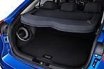 Rear Cargo Area of a 2010 Mitsubishi Lancer Sportback