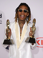 Wiz Khalifa @ the 2016 Billboard music awards held @ the T-Mobile arena.<br /> May 22, 2016