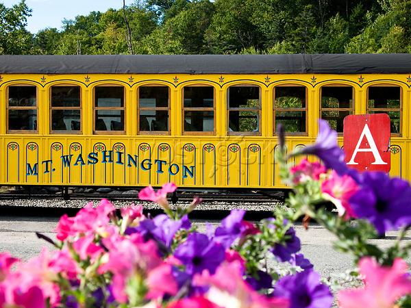 USA, Neuengland, Mount Washinton Cog Railway, 04.09.2010<br /> <br /> Engl.: USA, New England, Mount Washington Cog Railway, transport, traffic, 04 September 2010