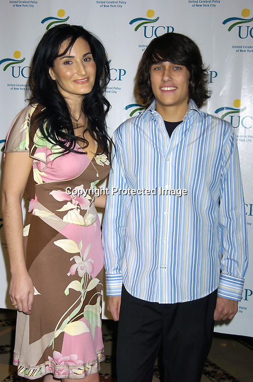 Atoosa Rubenstein, Teddy Gieger ..at the United Cerebral Palsy's Fourth Annual Women Who Care Luncheon on May 5, 2005 at Cipriani 42nd Street. ..Photo by Robin Platzer, Twin Images