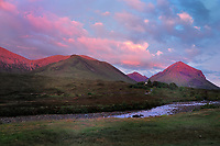 SC - ISLE of SKYE<br /> Sunset over the Cuillins at Sligachan Bridge<br /> <br /> Full size: 69,2 MB
