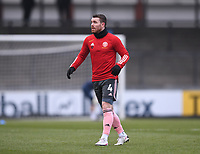 9th January 2021; Memorial Stadium, Bristol, England; English FA Cup Football, Bristol Rovers versus Sheffield United; John Fleck of Sheffield United warms up