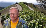T.J. Rodgers winery Clos De La Tech Vineyard and Winery in Woodside, Calif., Saturday, July 20, 2013.  (Photo by Paul Sakuma Photography) www.paulsakuma.com