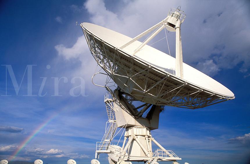 USA, New Mexico, Socorro. VLA ( Very Large Array) Telescope