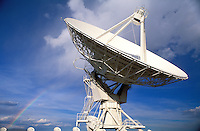 USA, New Mexico, Socorro. VLA ( Very Large Array) Telescope