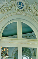 The 'M' in the Octagonal Salon's blue Wedgwood medallions stands for Marie-Josephine, Comtesse de Provence