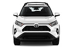 Car photography straight front view of a 2019 Toyota RAV4 XLE Premium 5 Door SUV