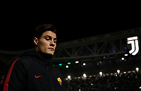 Calcio, Serie A: Juventus - AS Roma, Torino, Allianz Stadium, 23 dicembre, 2017. <br /> Roma's Patrik Schick reaches the bench before the start of the the Italian Serie A football match between Juventus and Roma at Torino's Allianz stadium, December 23, 2017.<br /> UPDATE IMAGES PRESS/Isabella Bonotto