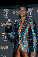 LOS ANGELES - MAR 30:  Chadwick Boseman at the 50th NAACP Image Awards - Press Room at the Dolby Theater on March 30, 2019 in Los Angeles, CA