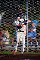 Colson Montgomery (2) during the WWBA World Championship at Terry Park on October 10, 2020 in Fort Myers, Florida.  Colson Montgomery, a resident of Holland, Indiana who attends Southridge High School, is committed to Indiana.  (Mike Janes/Four Seam Images)