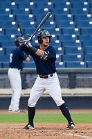 AZL Brewers center fielder Tristen Lutz (45) at bat against the AZL Padres 2 on September 2, 2017 at Maryvale Baseball Park in Phoenix, Arizona. AZL Brewers defeated the AZL Padres 2 2-0. (Zachary Lucy/Four Seam Images)