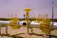 Kuwait October 1966.  Kuwait Oil Company Gathering Station Facility, Ahmadi.