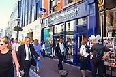 Dublin, Ireland. Crowd scene on Grafton Street. © Ellen B. Senisi